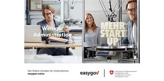 EasyGov.swiss erweitert Zugang für sämtliche Rechtsformen und verbessert die digitalen Betreibungsprozesse