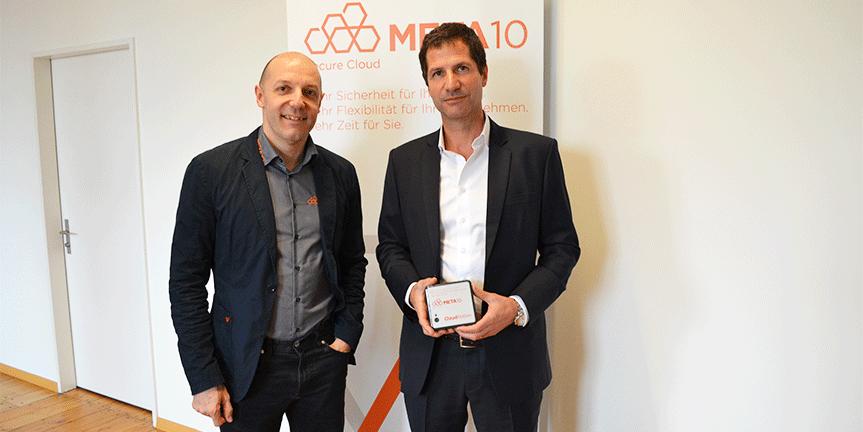 META10-Wettbewerbsgewinner Christoph Rumpf: «Cloudcomputing ist für KMU die Zukunft»