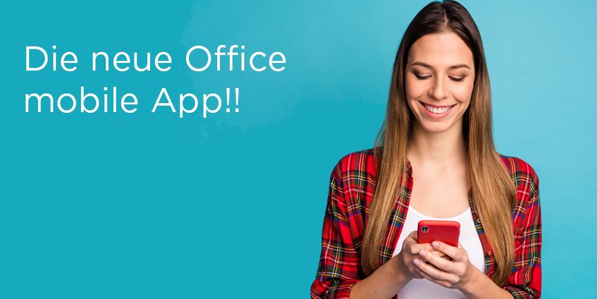 Neue «Microsoft Office-App» soll das Arbeiten mit Dokumenten auf dem Smartphone revolutionieren